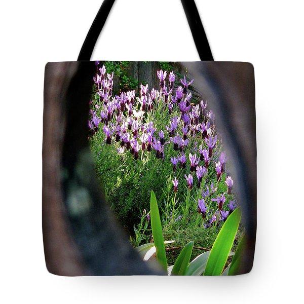 Peephole Garden Tote Bag