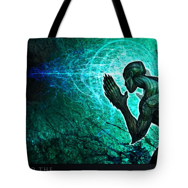 Peering Into The... Tote Bag