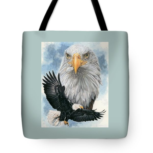 Tote Bag featuring the painting Peerless by Barbara Keith