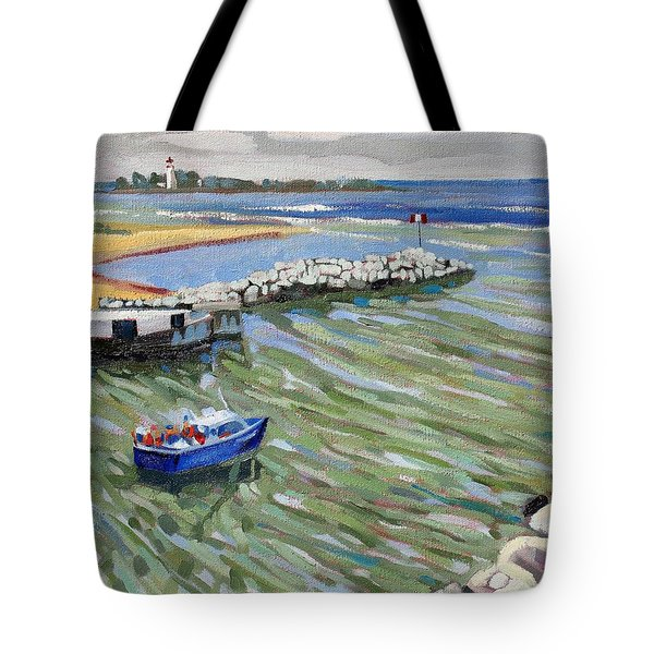 Peerlessly Outbound Tote Bag