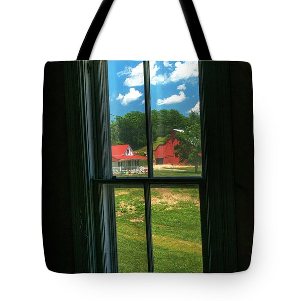 Tote Bag featuring the photograph Peers View by William Fields