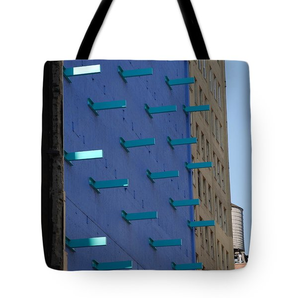 Peg Board Tote Bag by Rob Hans