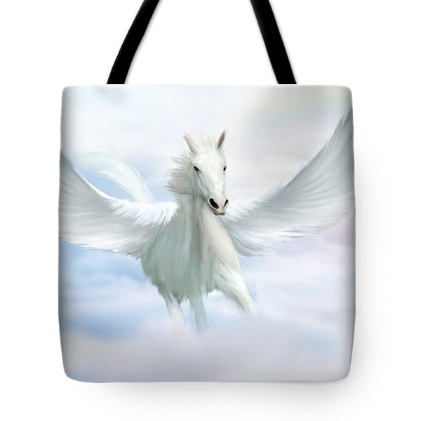 Pegasus Tote Bag by John Edwards