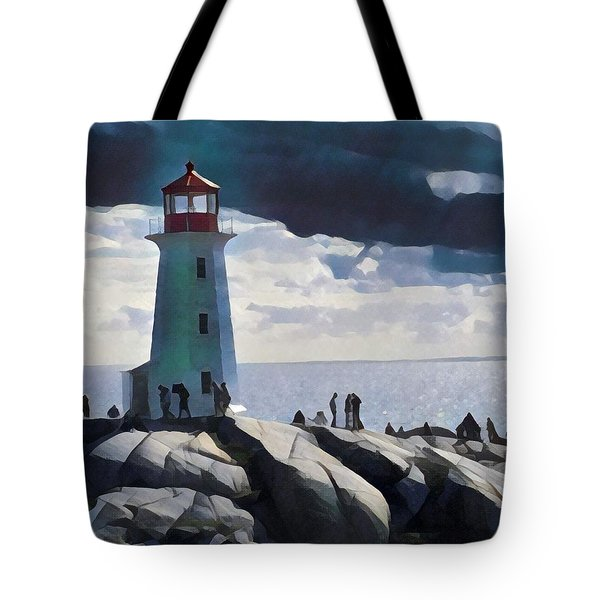 Peggy Painting Tote Bag