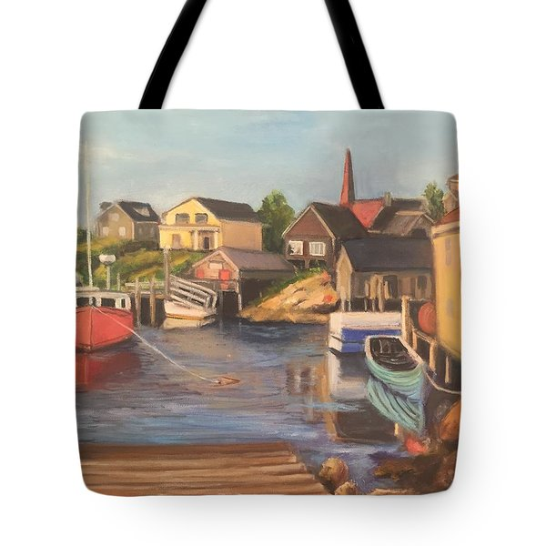 Peggy 's Cove, Halifax Nova Scotia, Canada  Tote Bag