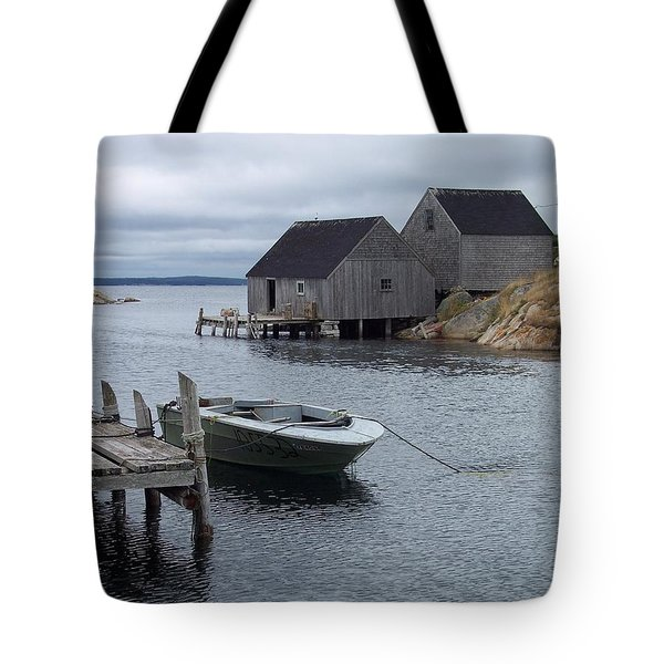 Tote Bag featuring the photograph Peggys Cove Canada by Richard Bryce and Family