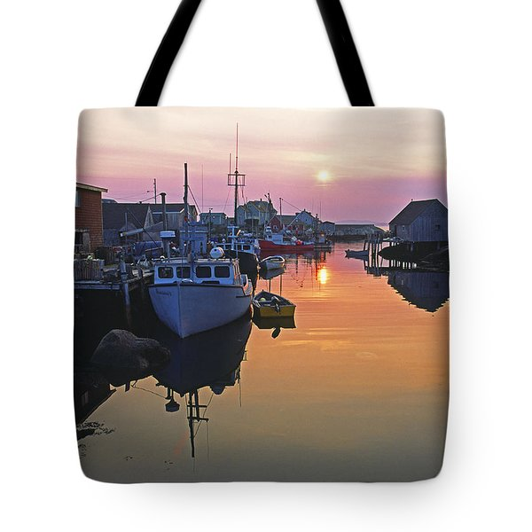 Peggy's Cove, Nova Scotia, Canada Tote Bag
