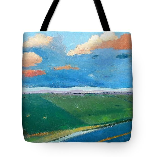 Peggy's Road Tote Bag