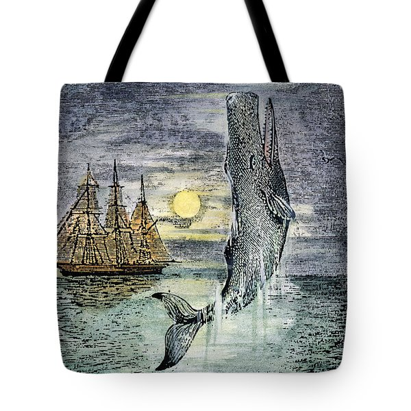 Pehe Nu-e: Moby Dick Tote Bag by Granger