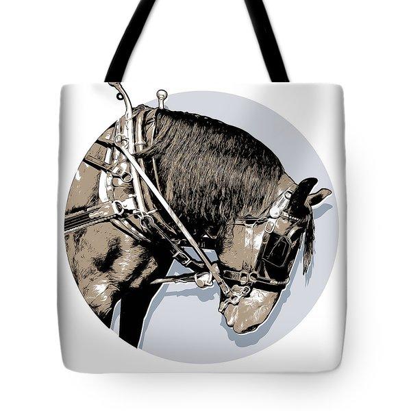 Pei Tour Horse Tote Bag