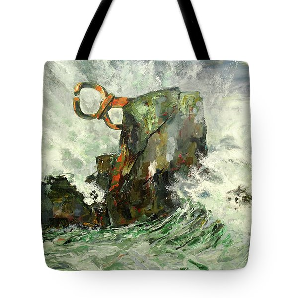Peine Del Viento Tote Bag by Koro Arandia