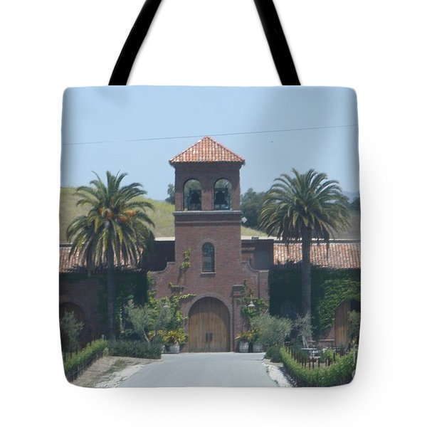 Peitre Santa Winery Tote Bag