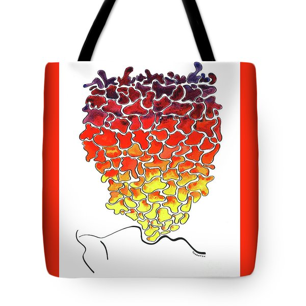 Pele Dreams Tote Bag by Diane Thornton