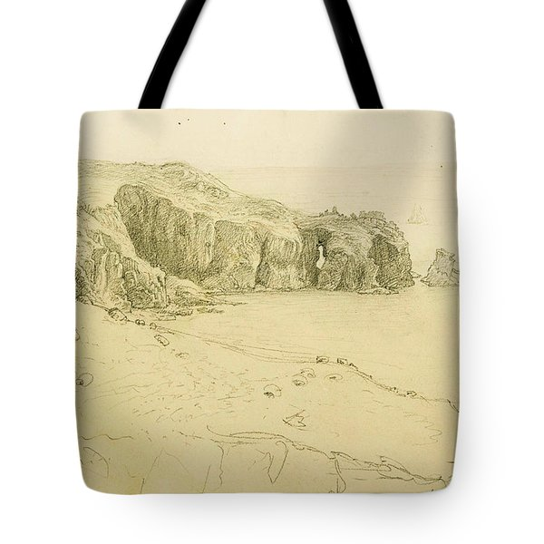 Pele Point, Land's End Tote Bag by Samuel Palmer
