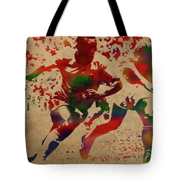 Pele Watercolor Portrait Tote Bag