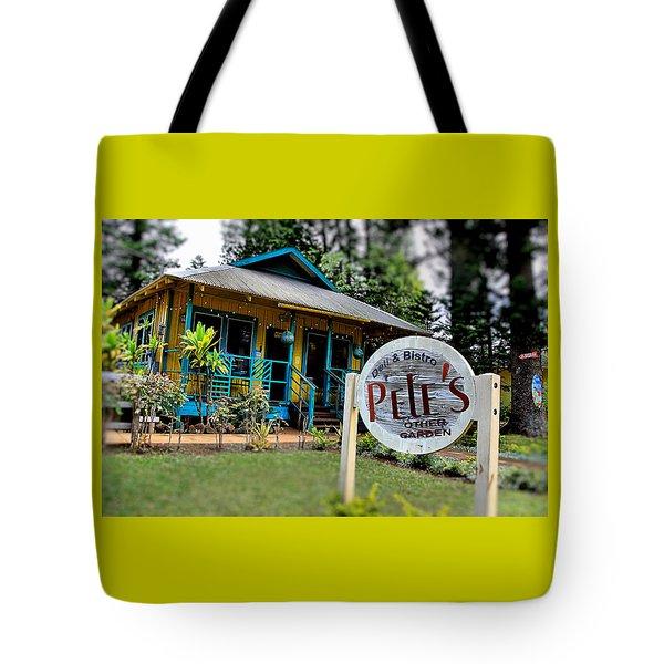 Pele's Lanai Style Tote Bag by DJ Florek
