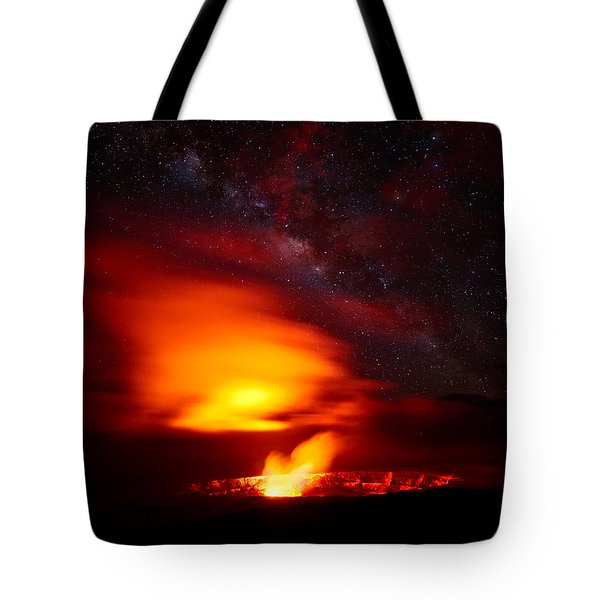 Pele's Mouth Tote Bag