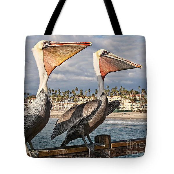 Pelican - A Happy Landing Tote Bag