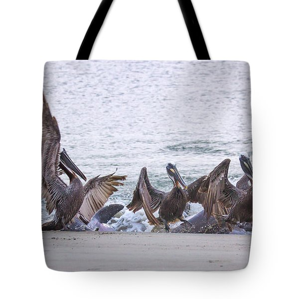 Pelican Brunch Tote Bag