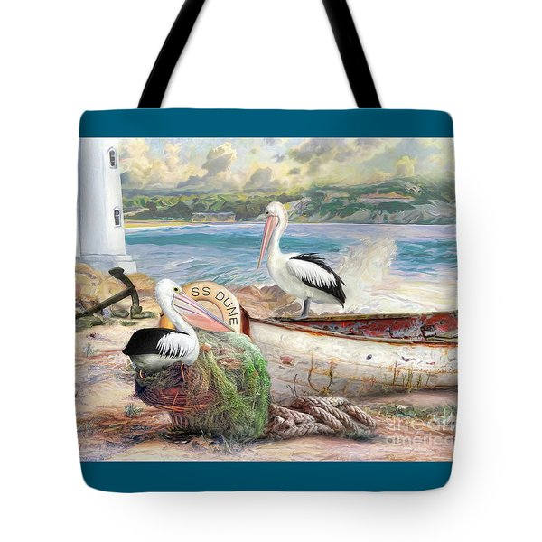 Pelican Cove Tote Bag