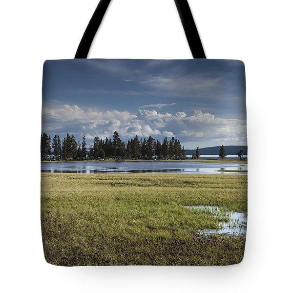 Pelican Creek Tote Bag