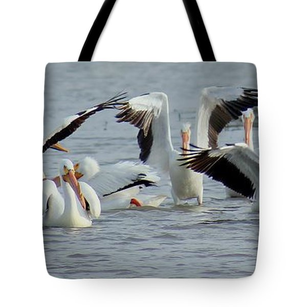 Pelican Dance Tote Bag