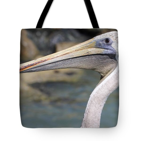 Pelican Face  That Only A Mother Could Love Tote Bag