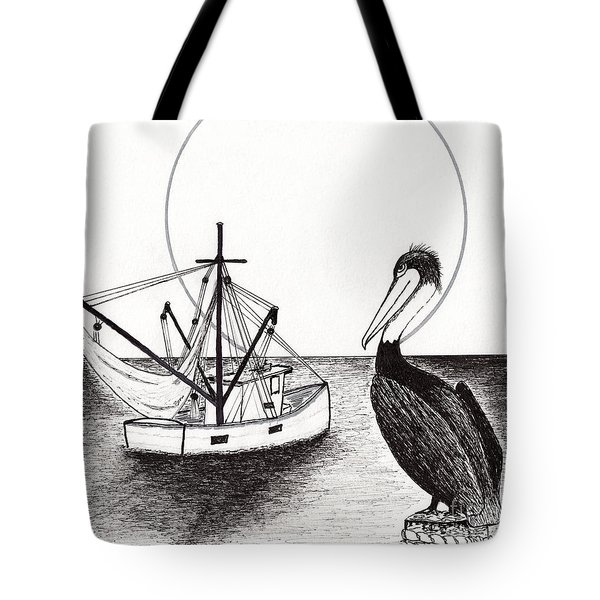 Pelican Fishing Paradise C1 Tote Bag