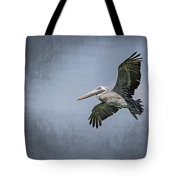 Pelican Flight Tote Bag by Carolyn Marshall