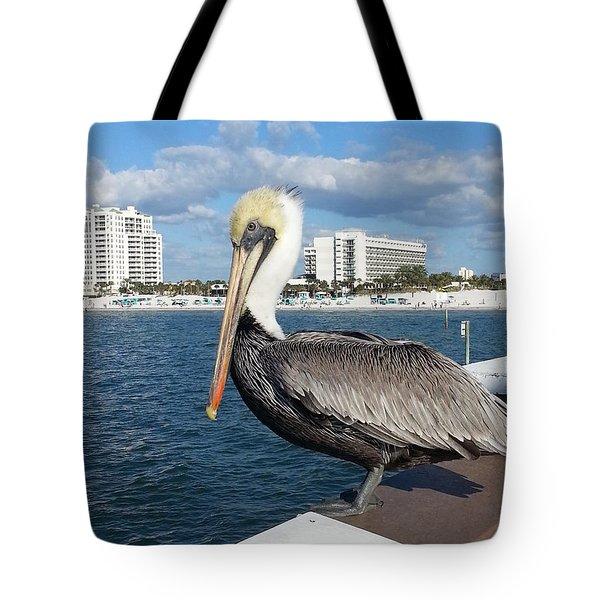 Pelican -florida Tote Bag