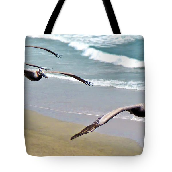 Pelican Fly-by Tote Bag