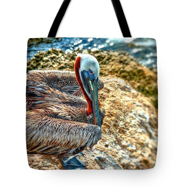 Pelican II Tote Bag