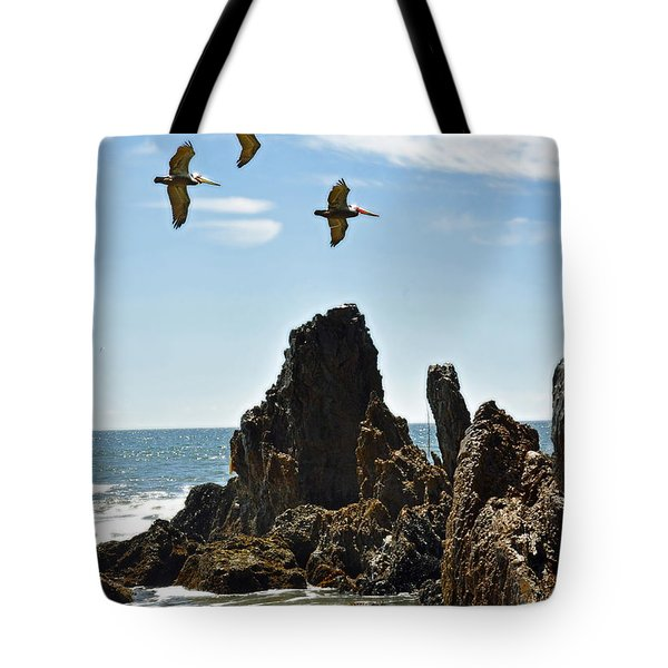 Pelican Inspiration Tote Bag by Gwyn Newcombe