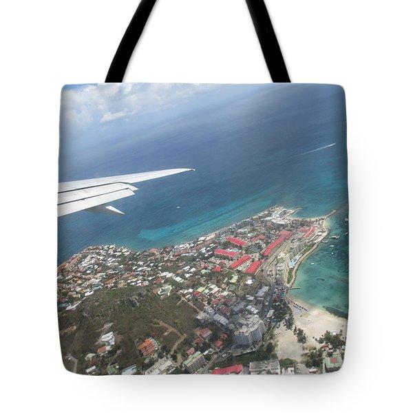 Pelican Key St Maarten Tote Bag