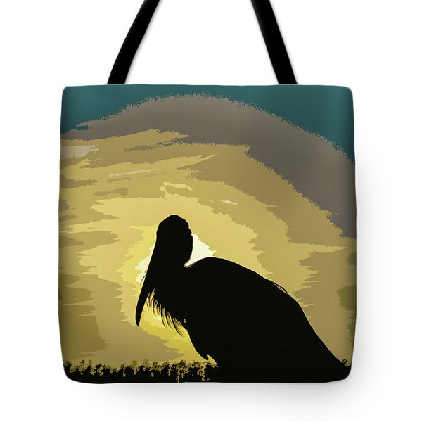 Pelican Paint Tote Bag