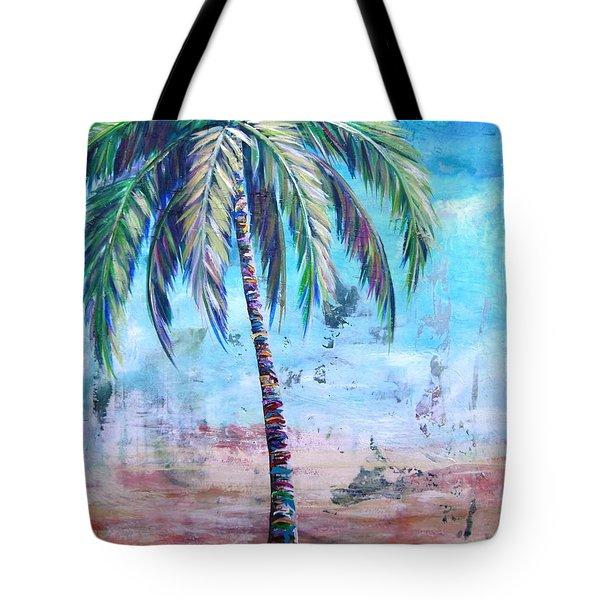 Pelican Palm I Tote Bag