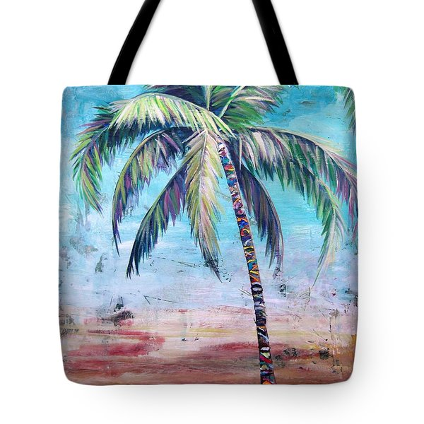 Pelican Palm II Tote Bag by Kristen Abrahamson