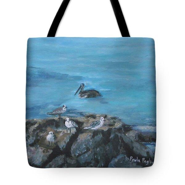 Pelican Patrol Tote Bag