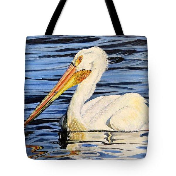 Pelican Posing Tote Bag