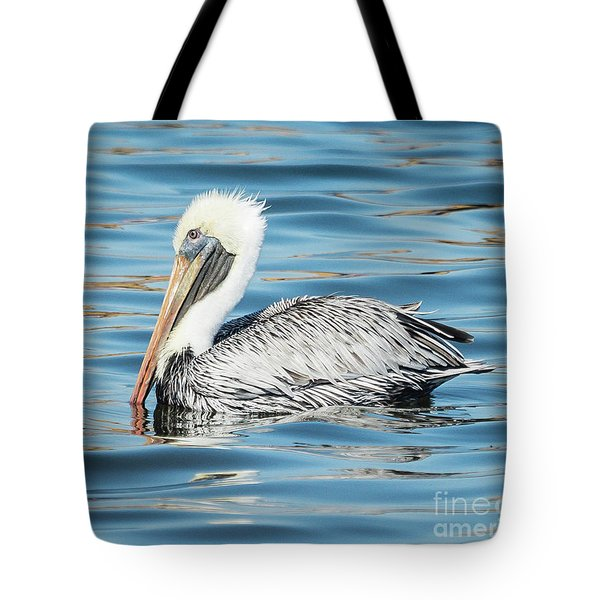 Pelican Relaxing Tote Bag