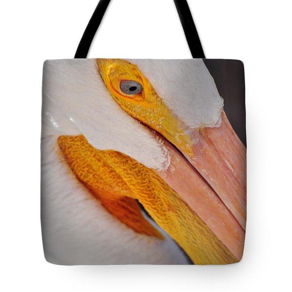 Pelican Twist Tote Bag by Marty Koch