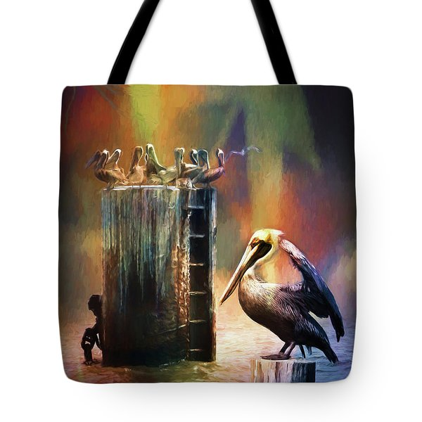 Pelican Ways Tote Bag