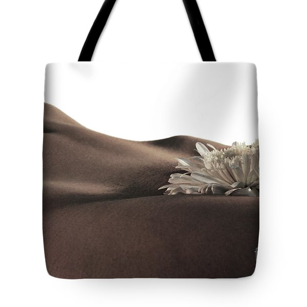 Pelvis Petals Tote Bag