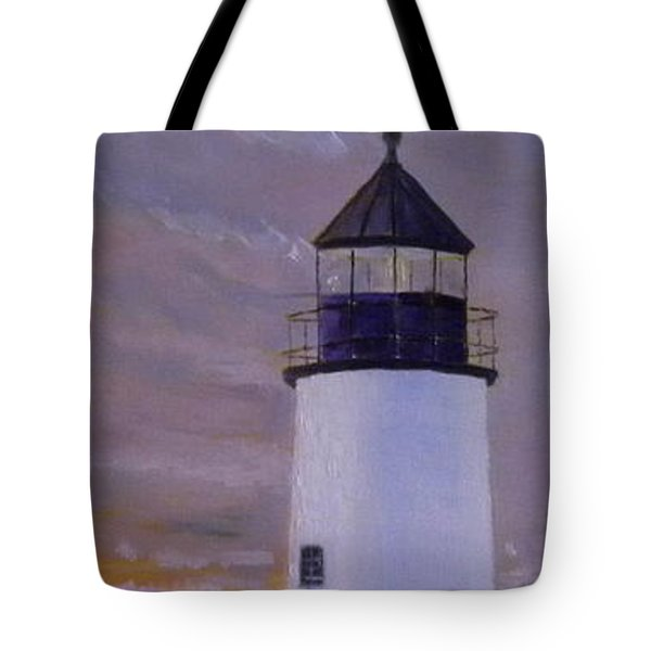 Pemaquid Light Morning Light Tote Bag
