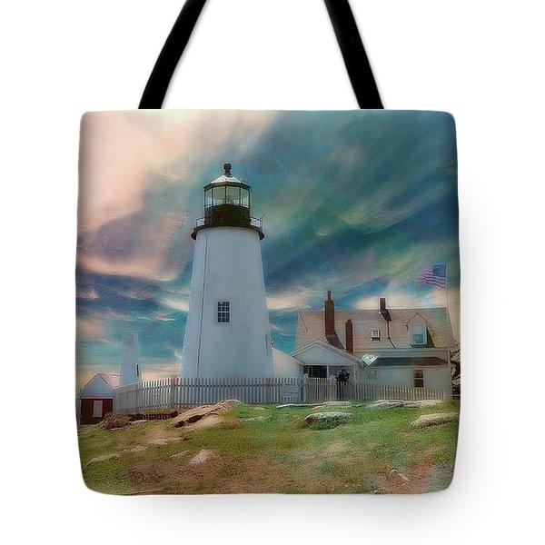 Pemaquid Lighthouse,maine Tote Bag