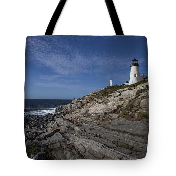 Pemaquid Lightouse Tote Bag