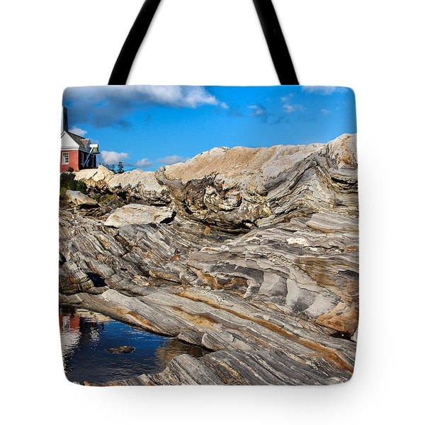 Pemaquid Point  Tote Bag