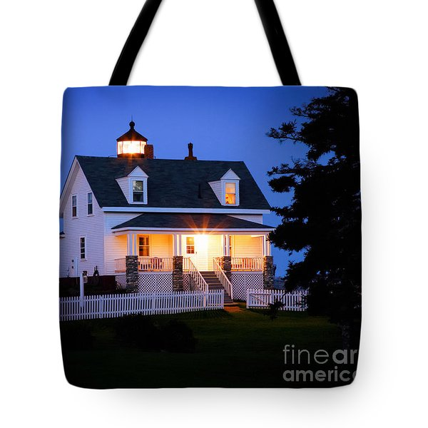Pemaquid Point Lighthouse 3071 Tote Bag