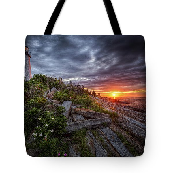 Pemaquid Sunrise Tote Bag