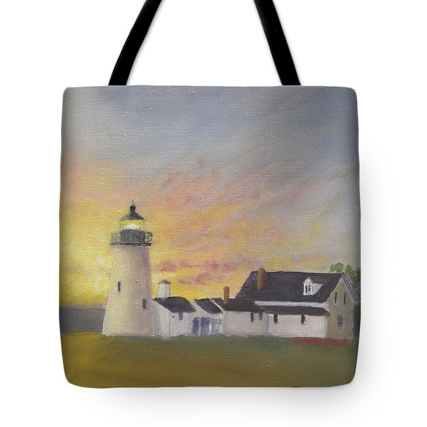 Pemaquid's First Light Tote Bag